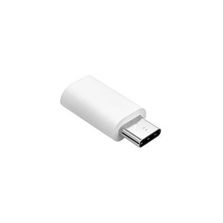 ADAPTOR MICRO USB – USB TIP C ALB | wauu.ro