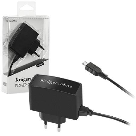 INCARCATOR RETEA MICRO USB 1A KRUGER&MATZ | wauu.ro