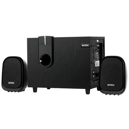 SUBWOOFER 2.1 + FM INTEX IT200FM | wauu.ro