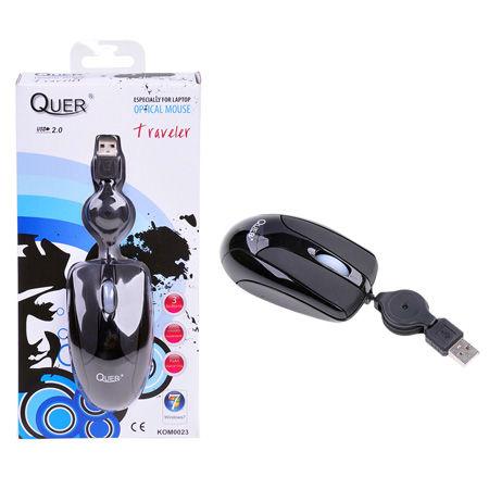 MOUSE OPTIC QUER MODEL TRAVELER (USB) | wauu.ro