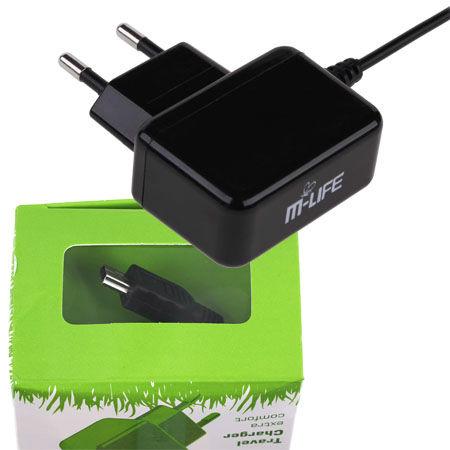 INCARCATOR RETEA M-LIFE MINI USB 800MA | wauu.ro