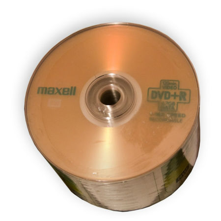 DVD+R MAXELL 4.7GB 16X SPINDLE 50 | wauu.ro