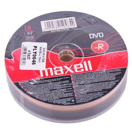 DVD-R 4.7GB MAXELL 10BUC | wauu.ro