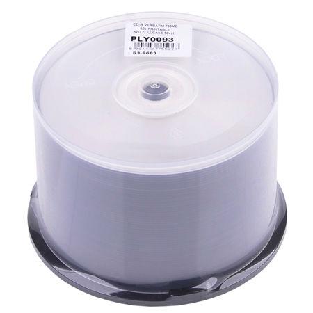 CD-R VERBATIM 700MB 52X PRINTABIL AZO CAKE 50 | wauu.ro