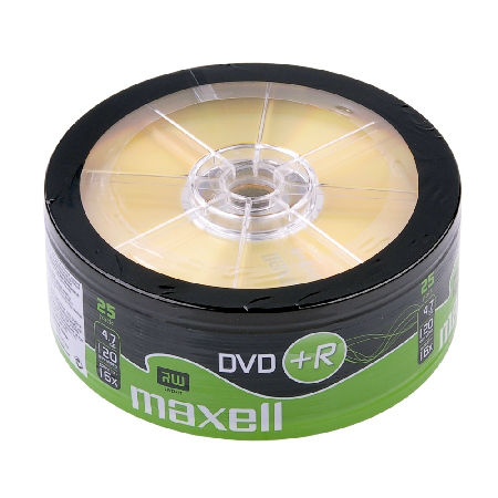 DVD+R MAXELL 4,7 GB 16X SP.25BUC | wauu.ro