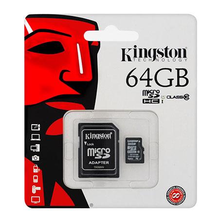 MICRO SD CARD 64GB CLASS 10 ADAPTOR KINGSTON | wauu.ro