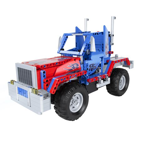 MASINA RC 531 PIESE BLOCKS TRUCK BY QUER | wauu.ro