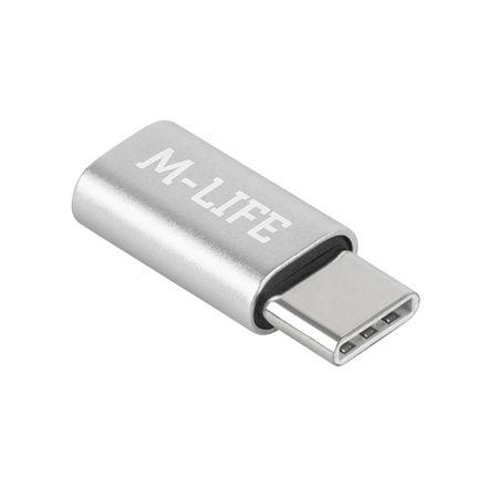 ADAPTOR MICRO USB – USB TIP C M-LIFE | wauu.ro