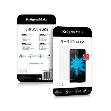 FOLIE TEMPERED GLASS FLOW 5+ KRUGER&MATZ | wauu.ro