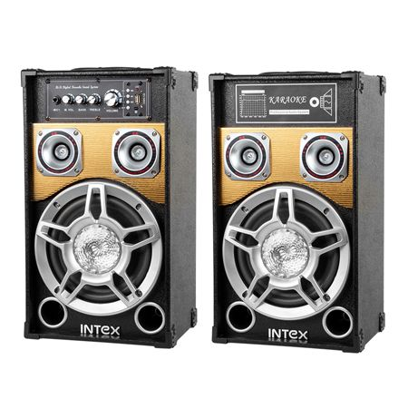DJ SPEAKER SET DJ801 INTEX   wauu.ro