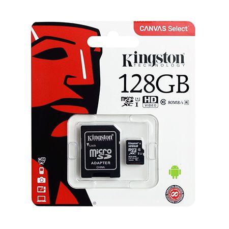 MICRO SD CARD 128GB CLASS 10 KINGSTON | wauu.ro