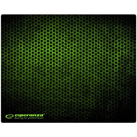 MOUSE PAD GAMING GREEN 25X20 | wauu.ro