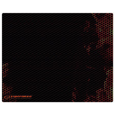 MOUSE PAD GAMING RED 30X24 | wauu.ro