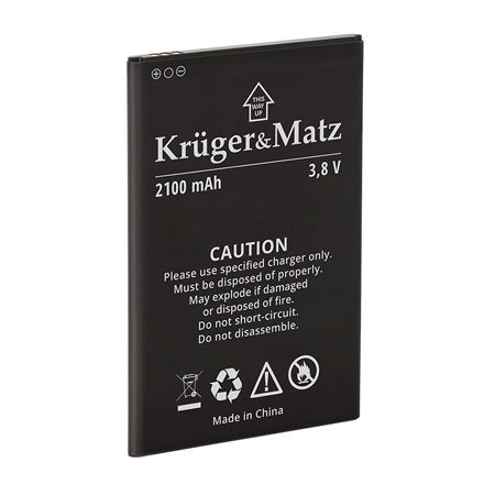 ACUMULATOR ORIGINAL FLOW 4/4S KRUGER&MATZ | wauu.ro