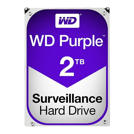 HDD 2TB SATA3 64MB PURPLE WESTERN DIGITAL | wauu.ro