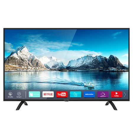 TV 4K ULTRA HD SMART 55INCH 140CM SERIE A K&M | wauu.ro