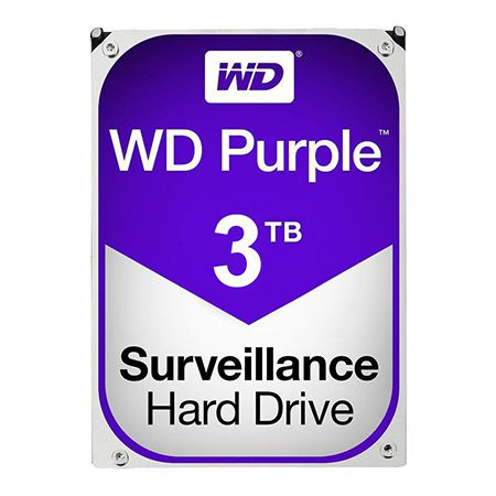 HDD 3TB SATA3 PURPLE WESTERN DIGITAL | wauu.ro