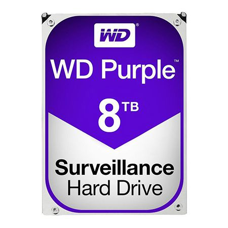 HDD 8TB SATA3 256MB PURPLE WESTERN DIGITAL | wauu.ro