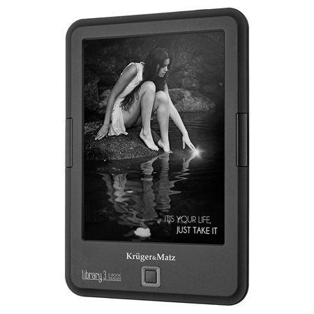 E-BOOK READER LIBRARY 3 CARTA KRUGER&MATZ | wauu.ro