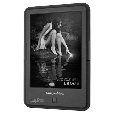 E-BOOK READER LIBRARY 3S CARTA+ KRUGER&MATZ | wauu.ro