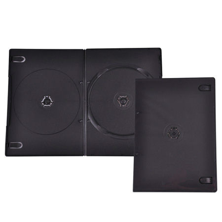 DVD BOX QUER 5.2MM DOUBLE BLACK HQ 10BUC | wauu.ro