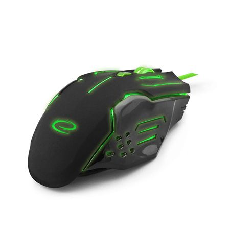 MOUSE OPTIC USB GAMING VERDE | wauu.ro