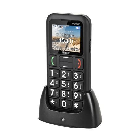TELEFON GSM SENIORI DUAL SIM DOCKING M-LIFE | wauu.ro