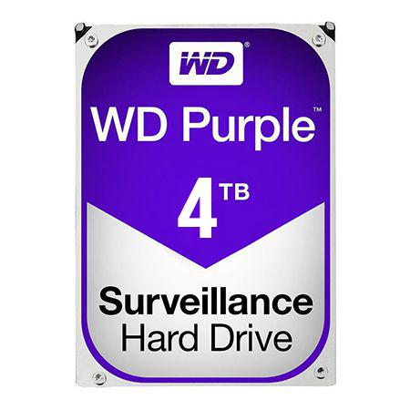 HDD 4TB SATA3 64MB PURPLE WESTERN DIGITAL | wauu.ro