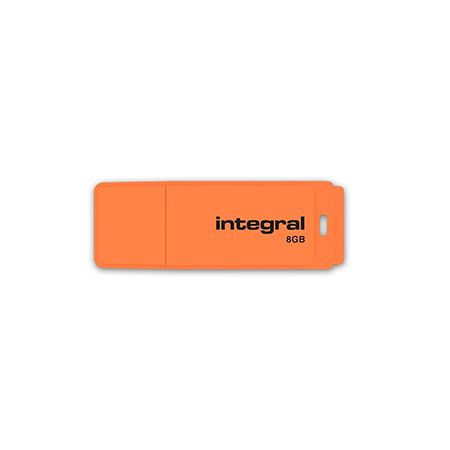 FLASH DRIVE 8GB NEON INTEGRAL | wauu.ro