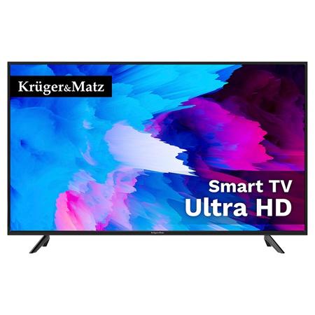 TV 4K ULTRA HD SMART 58INCH 147CM H.265 K&M   wauu.ro